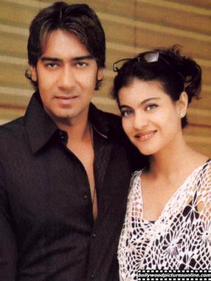 Kajol et son mari